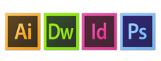 ADOBE PHOTOSHOP, ADOBE ILLUSTRATOR , Dreamweaver