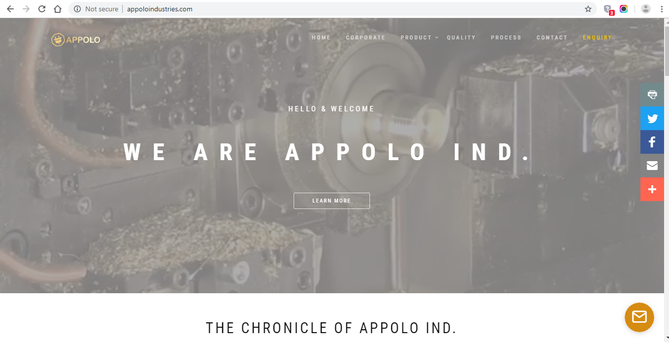 AppoloIndustries by Laxicon Solution