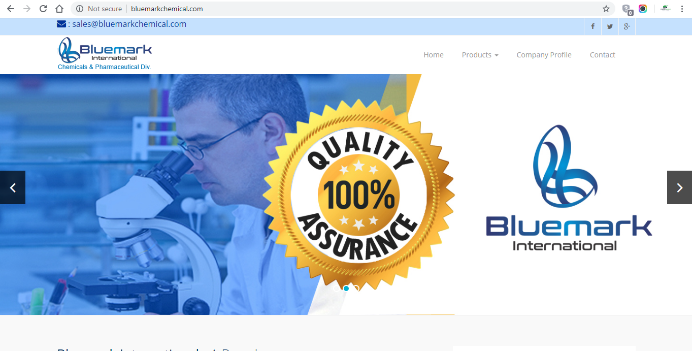 BlueMarkChemical by Laxicon Solution