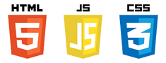 HTML, CSS, LESS, Bootstrap, Java Script